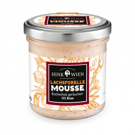 Hink Arctic char mousse Beech wood smoked 130g