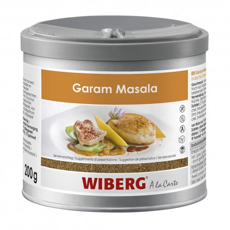 Wiberg Garam Masala, Indian spice preparation 470ml