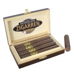 Leschanz Edelschokolade-Zigarren Vollmilch 4 Stk. 112gr