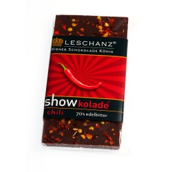 Leschanz dark chocolate chili 50gr