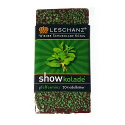 Leschanz dark chocolate peppermint 50gr