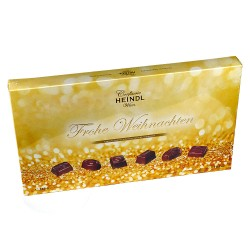 "Heindl ""Merry Christmas"" - Exquisite chocolates, finest milk chocolate 355gr"