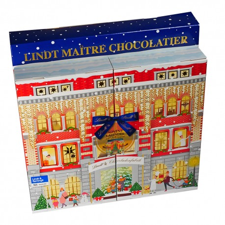 Lindt chocolate factory Advent Calendar for unfolding 304gr