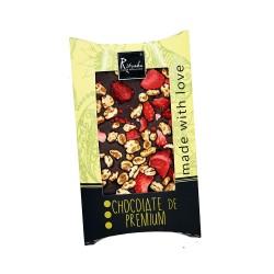 Ritonka Dark Chocolate Honey, Spelt, Strawberry
