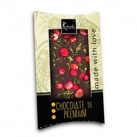 Ritonka Dark Chocolate Mint, Cranberries