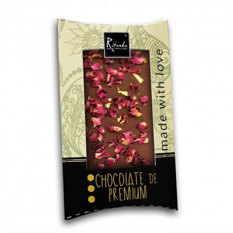 Ritonka Dark Chocolate 23k Gold and Rose