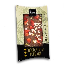 Ritonka Milch-Schokolade Zitrone, Erdbeer, Ingwer 95gr