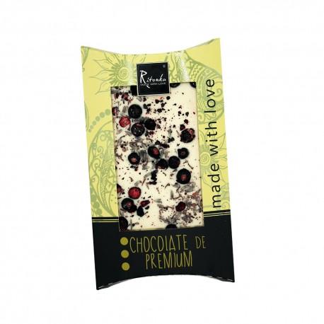 Ritonka White chocolate  Black Currant, Lavender
