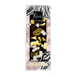 Ritonka Bitter-Schokolade Kiwi, Mango, Kokos - Gourmet Selection 130gr