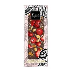 Ritonka Milch-Schokolade Erdbeere, Kekse, Karamell, Salz - Gourmet Selection 130gr