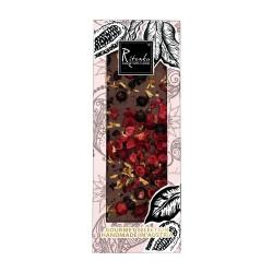 Ritonka Milch-Schokolade Preiselbeere, Johannisbeere, Zitrone - Gourmet Selection 130gr