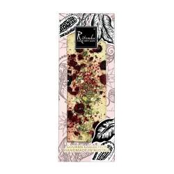 Ritonka Weiße-Schokolade Pistazien, Kirschen, Gold - Gourmet Selection 130gr