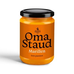 Oma Staud Apricot Jam finely sieved 450gr