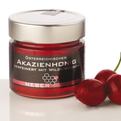 Neber Acacia Honey refined with Wild Cherries 250g