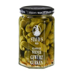 "Staud's ""Gherkins - sweet sour"" 580ml"