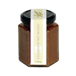 Lustenauer Fig mustard with honey and ginger 190g