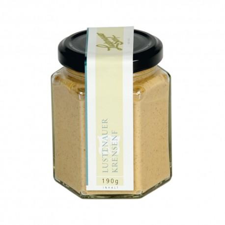 Lustenauer mustard horseradish 190g