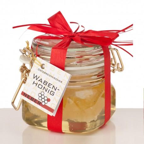 Neber Honey Comb in Glass 330g