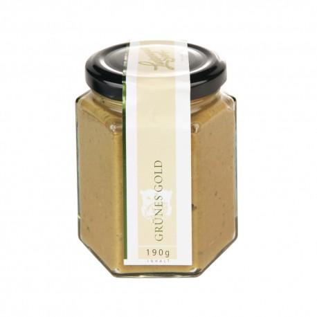 Lustenauer mustard green gold 190g