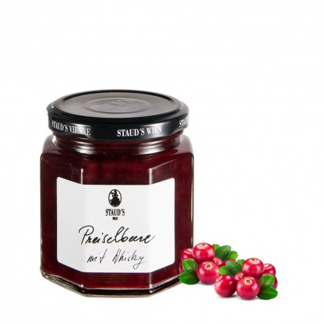 "Staud's Limited Preserve ""Cranberry with Whiskey"" 250g"