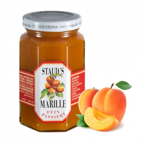 """Staud's Preserve Pure Fruit """"Apricot finely sieved"""" 250g"""