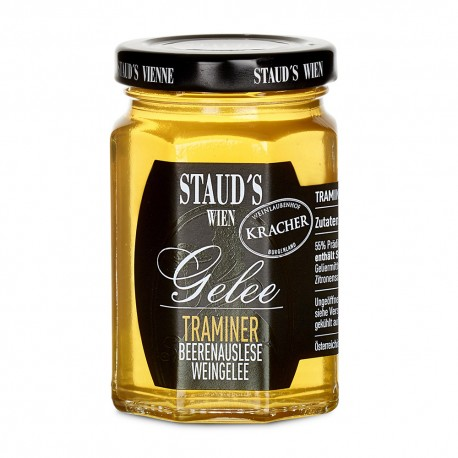 "Staud's Wine Jelly ""Beerenauslese-Traminer"" 130g"