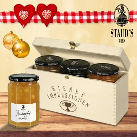 Staud's Christmas Preserve Giftset 3 x 330g
