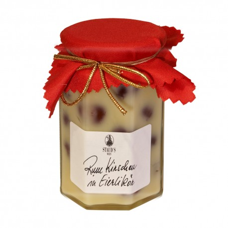 Staud's Sour Cherries in Eggnog 314ml
