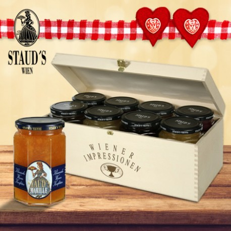 Staud's Classical Viennese Preserve Giftset 8 x 330g