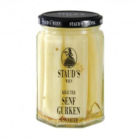 """Staud's """"Mustard Cucumbers"""" 314ml"""