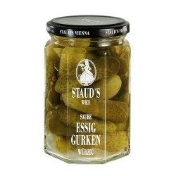 "Staud's ""Vinegar Gherkins"" 314ml"
