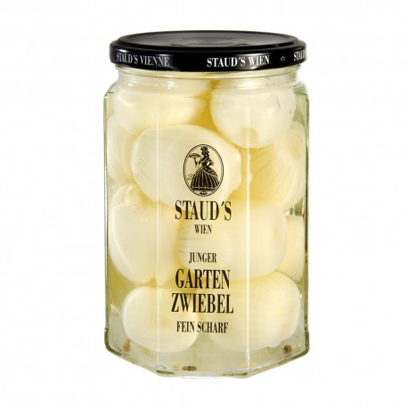 "Staud's ""Young garden onion, finely sharp"" 580ml"