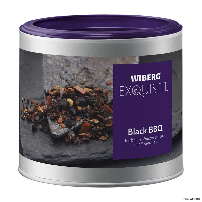 Wiberg Black Bbq Barbacoa Würzmischung 470ml Sovillo Onlineshop