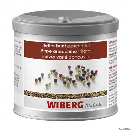 WIBERG Pfeffer bunt, geschrotet 470ml