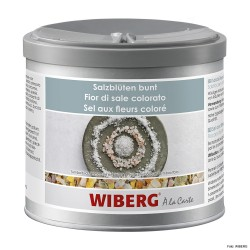 WIBERG Colorful Salt Flowers, Salt flakes with spices 470ml