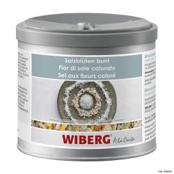 WIBERG Salzblüten bunt, Salzflocken mit Gewürzen 470ml