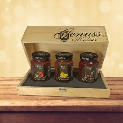 Staud's Fruit and Chocolate Gift Set 3 x 130g