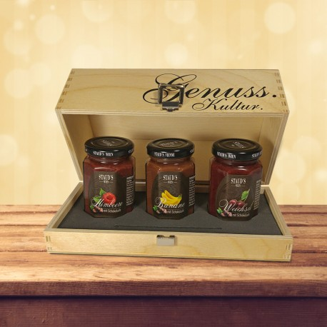 Staud's Limited Preserve Giftset 3 x 330g
