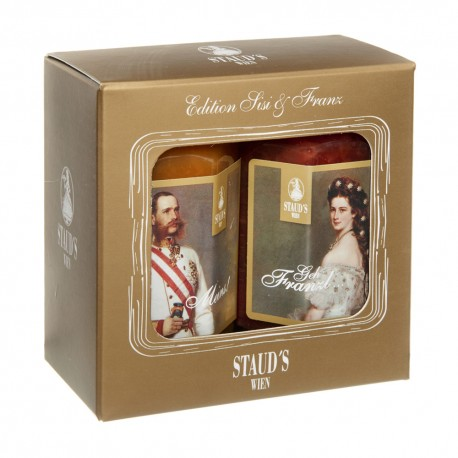"Staud's Giftset  ""Edition Sisi & Franz"" 2 x 130g"