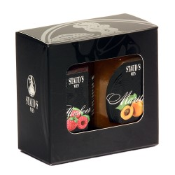 Staud's Giftset 2 x 130g in a decorative gift box