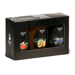 Staud's Preserves Giftset 3 x 130g  in a decorative gift box