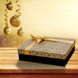Exklusiver Geschenkkarton mit Barockmuster