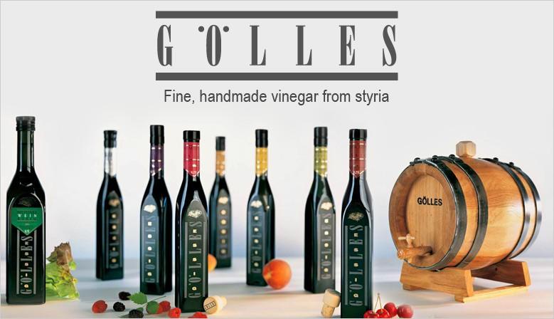 Gölles, handmade vinegar