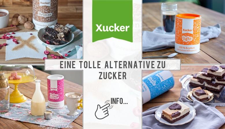 Eine tolle Alternative zu herkömmlichem Zucker - XUCKER